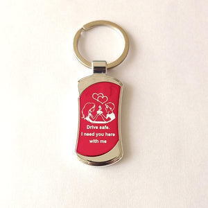 Drive Safe Key Ring