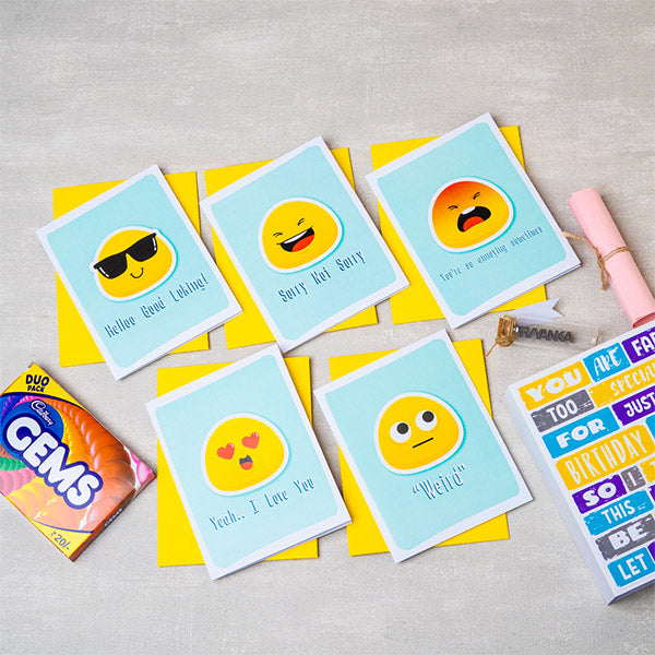 Adorable Emoji Card Mail Box