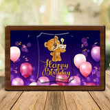Happy Birthday Magnetic Photo Frame