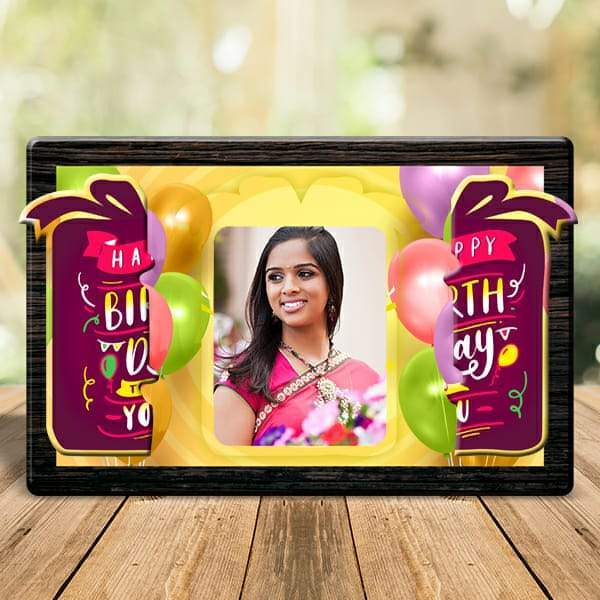 Happy Birthday To You Magnetic Photo Frame