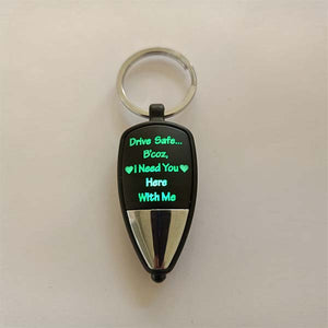 Drive Safe Multi Led Key Chain