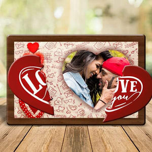 Love You Magnetic Photo Frame