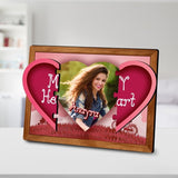My Heart Hidden Photo Frame