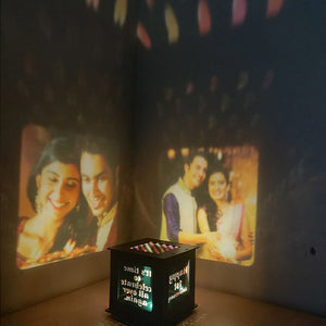 Customize Wooden Photo Shadow Box