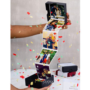Personalized Photo Popup Box