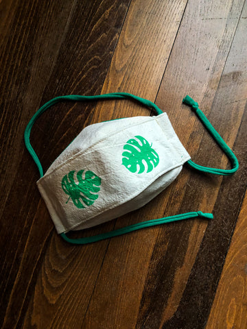 Monstera - Reusable Mask