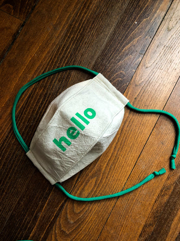 Hello - Reusable Mask