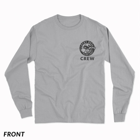 Long Sleeve LDRC Crew Shirt Grey