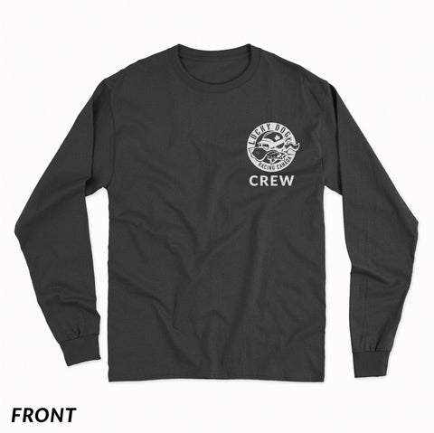 Long Sleeve LDRC Crew Shirt Black
