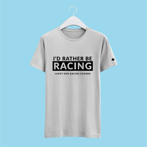 I'd Rather Be Racing Tshirt