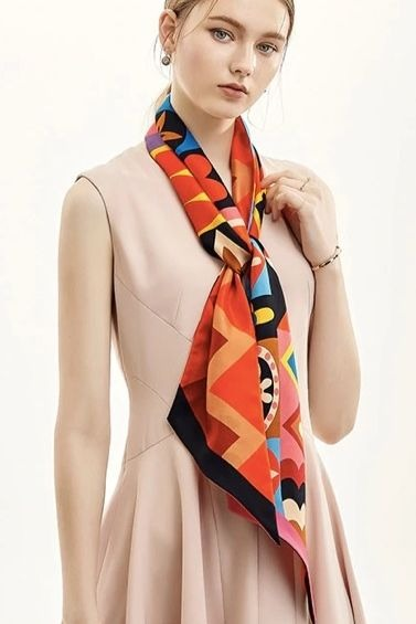 Color Punch Neckerchief