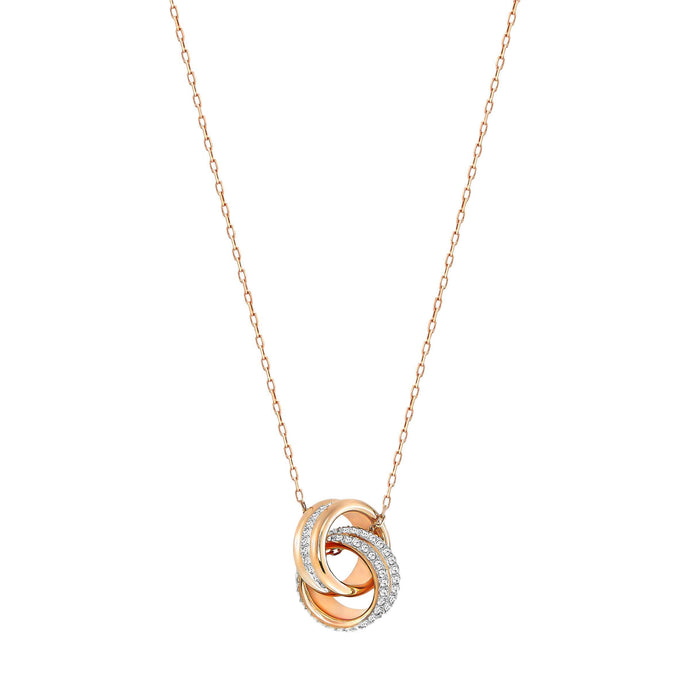 further-pendant-small-white-rose-gold-plated