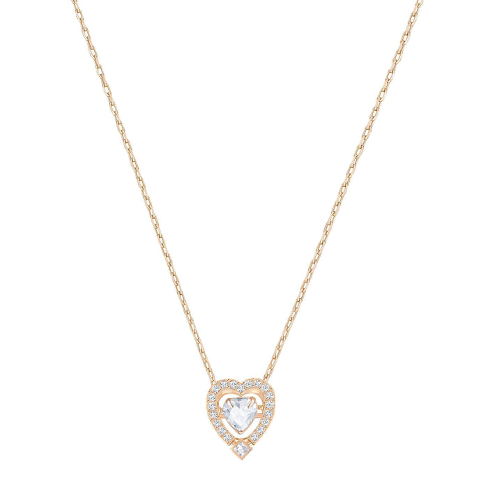 sparkling-dance-heart-necklace-white-rose-gold-plated