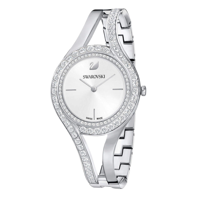 eternal-watch-metal-bracelet-white-silver-tone