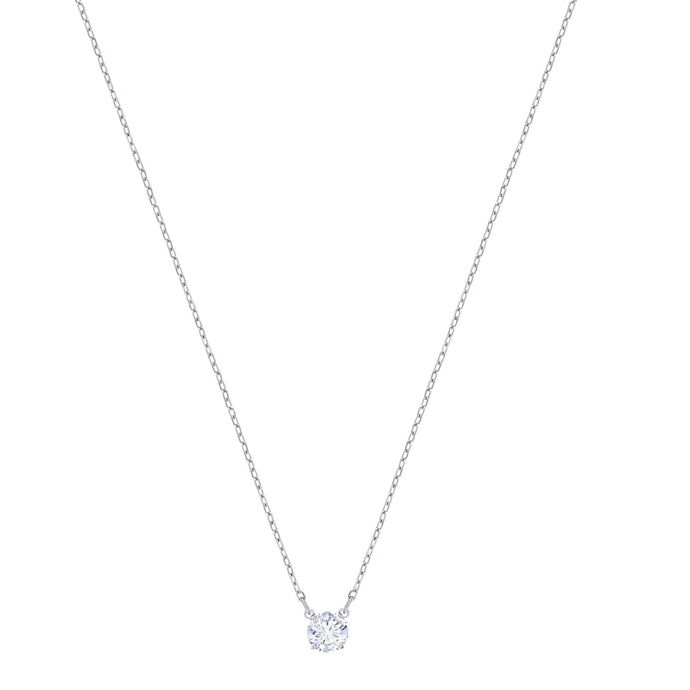 attract-round-necklace-white-rhodium-plating
