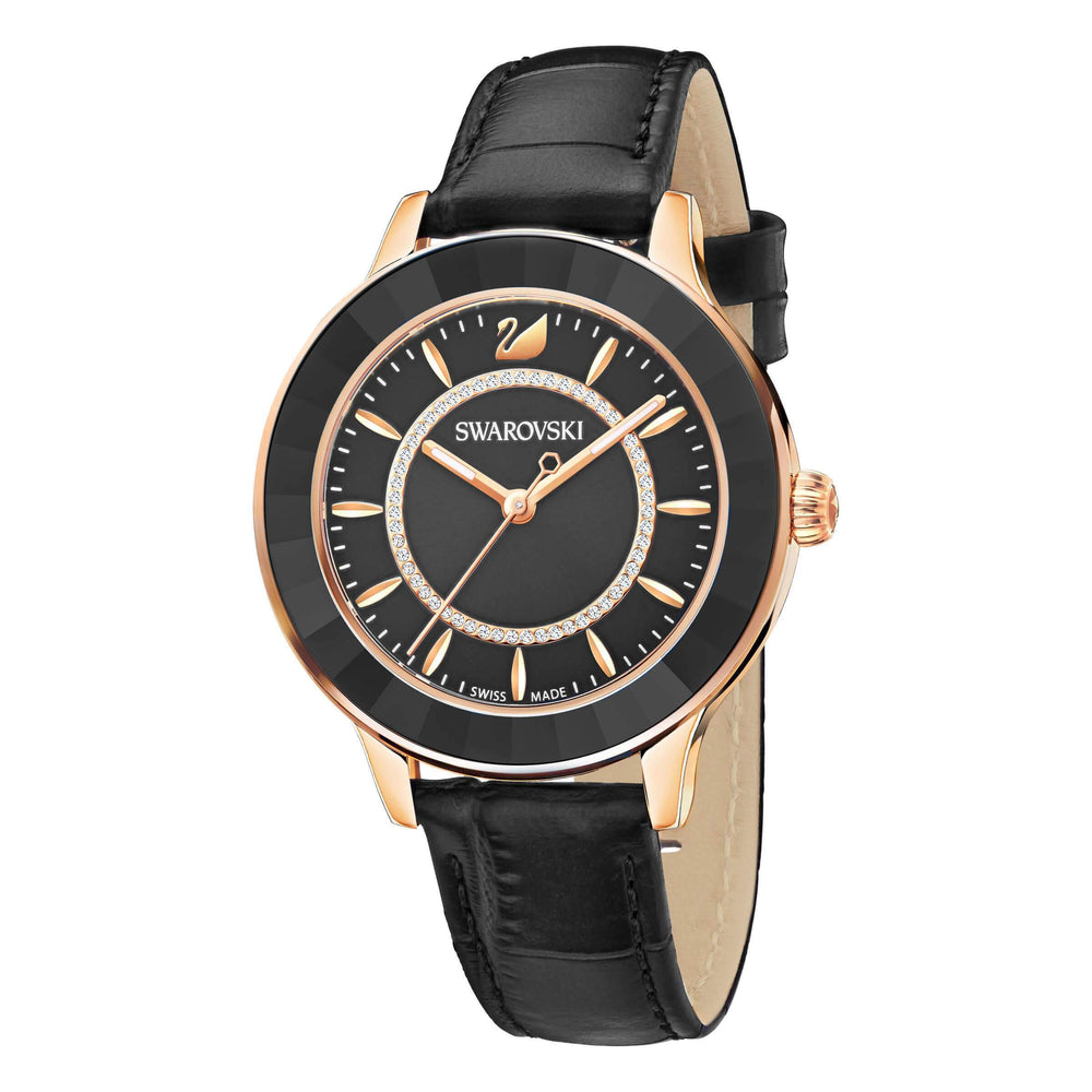octea-lux-watch-leather-strap-black-rose-gold-tone