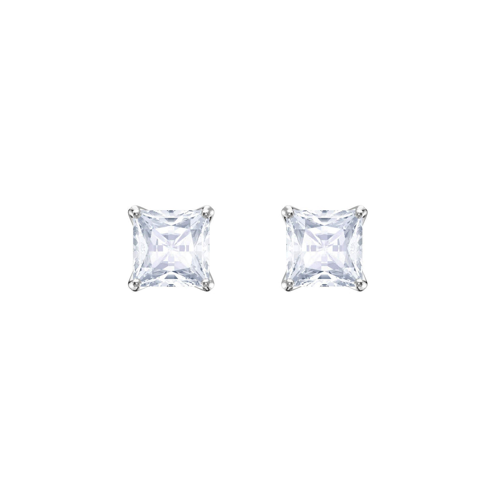 attract-stud-pierced-earrings-white-rhodium-plating