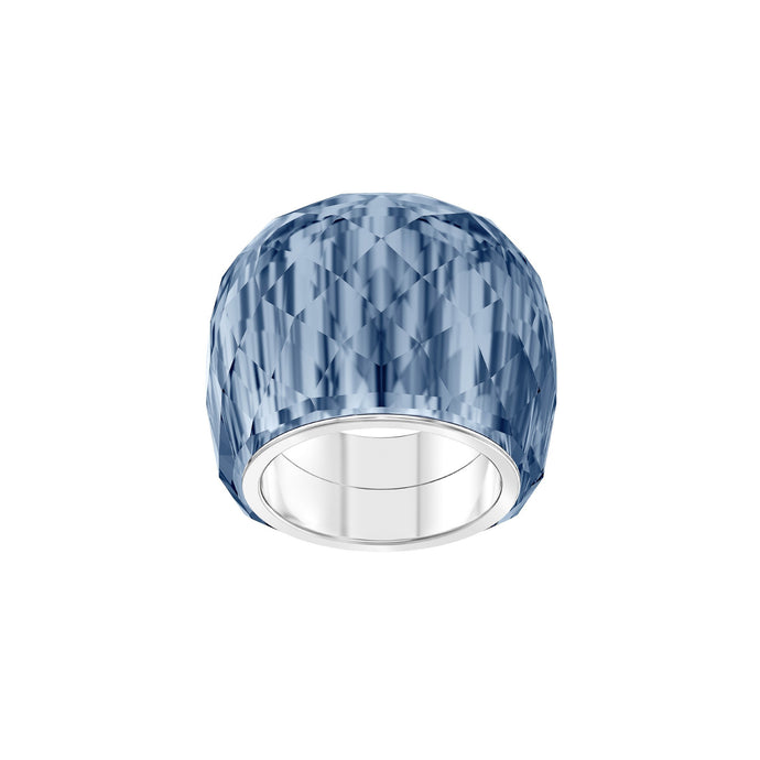 Nirvana Ring, Blue, Stainless Steel
