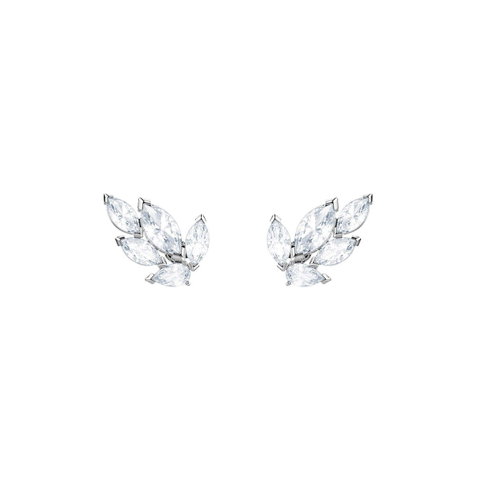 louison-stud-pierced-earrings-white-rhodium-plating