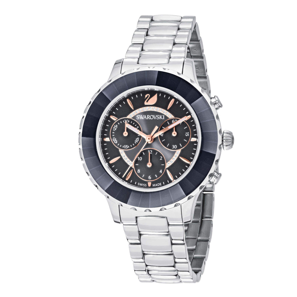 octea-lux-chrono-watch-metal-bracelet-black-silver-tone