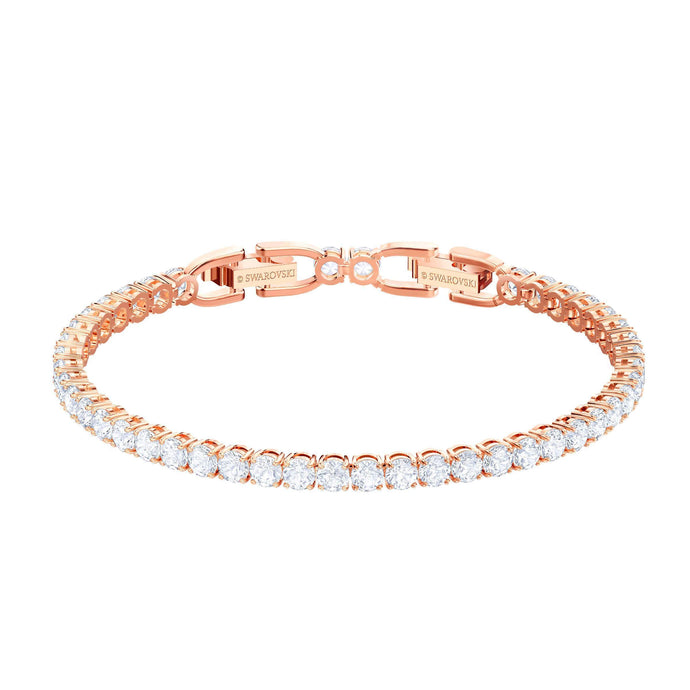 tennis-bracelet-white-rose-gold-plating
