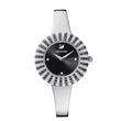 Load image into Gallery viewer, crystal-rose-watch-metal-bracelet-black-stainless-steel