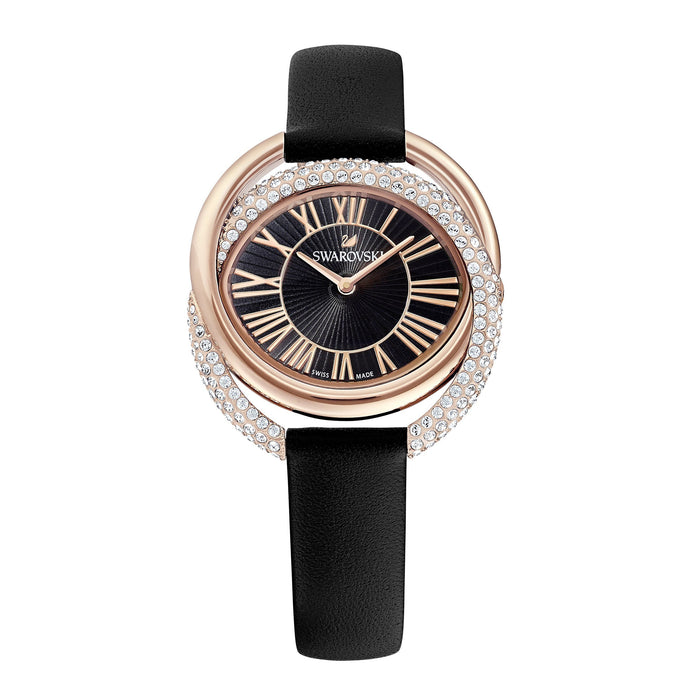 duo-watch-leather-strap-black-rose-gold-tone-pvd
