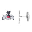 Load image into Gallery viewer, looney-tunes-sylvester-cuff-links-multi-colored-rhodium-plated