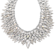 Load image into Gallery viewer, The Polar Bestiary Necklace, Multi-colored, Rhodium plated