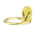 looney-tunes-tweety-motif-ring-yellow-gold-tone-plated