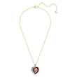 Load image into Gallery viewer, black-baroque-pendant-red-gold-tone-plated