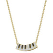 Load image into Gallery viewer, pleasant-piano-necklace-multi-colored-gold-tone-plated
