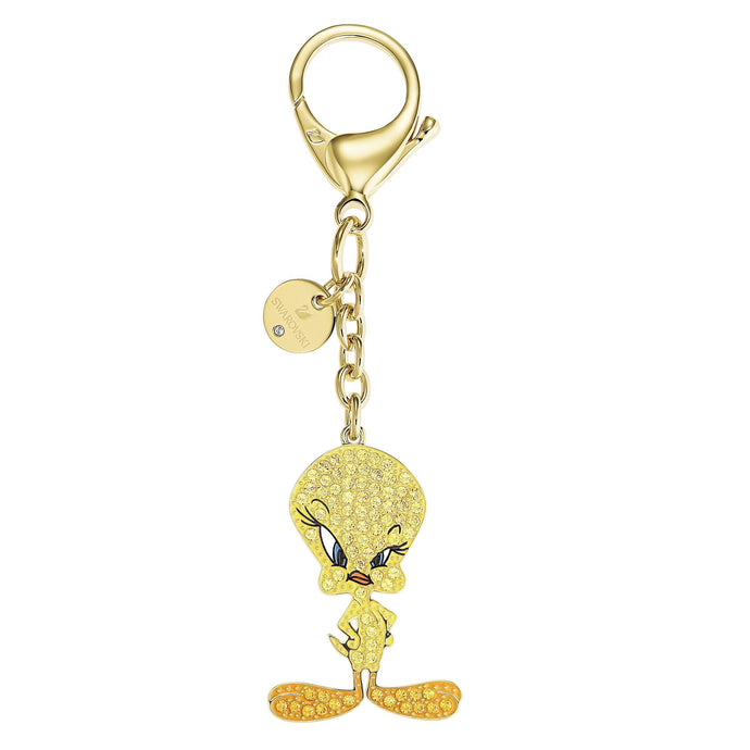 looney-tunes-tweety-bag-charm-yellow