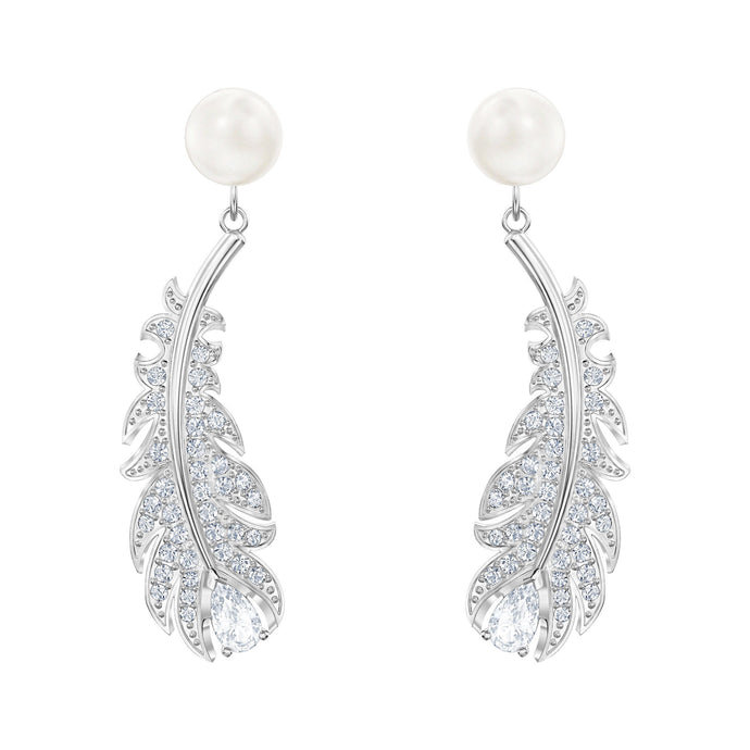 nice-pierced-earrings-white-rhodium-plated