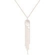 Load image into Gallery viewer, precisely-necklace-white-rose-gold-tone-plated