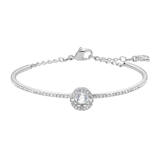 sparkling-dance-bangle-white-rhodium-plated