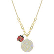 Load image into Gallery viewer, lisabel-coin-necklace-multi-colored-gold-tone-plated