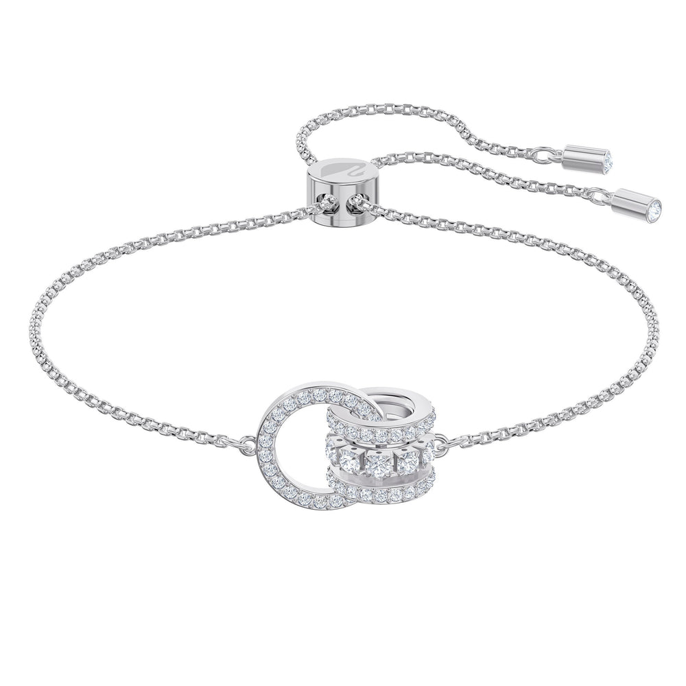 further-bracelet-white-rhodium-plated