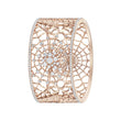 Load image into Gallery viewer, precisely-cuff-white-rose-gold-tone-plated-1