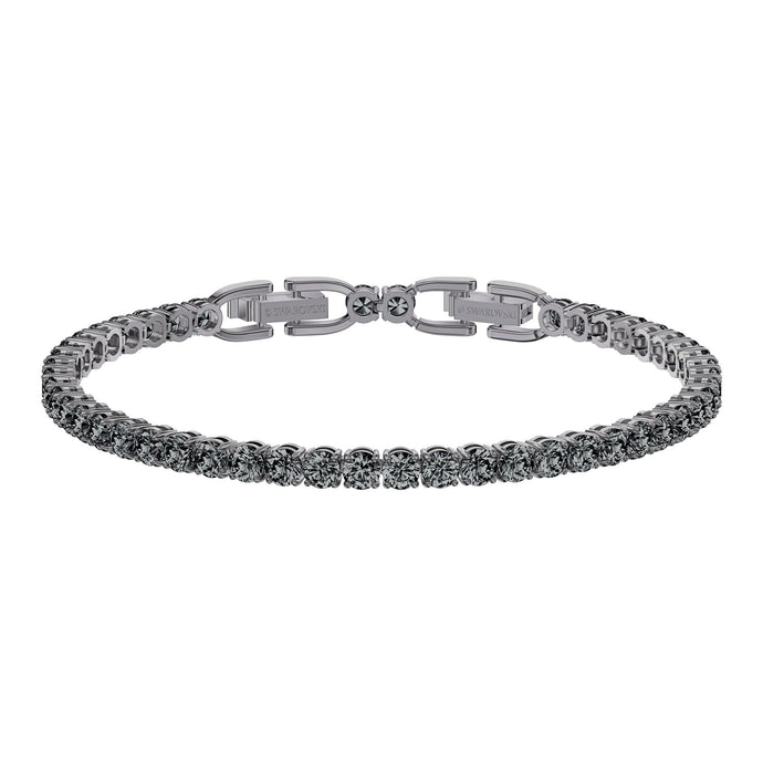 tennis-deluxe-bracelet-gray-ruthenium-plated
