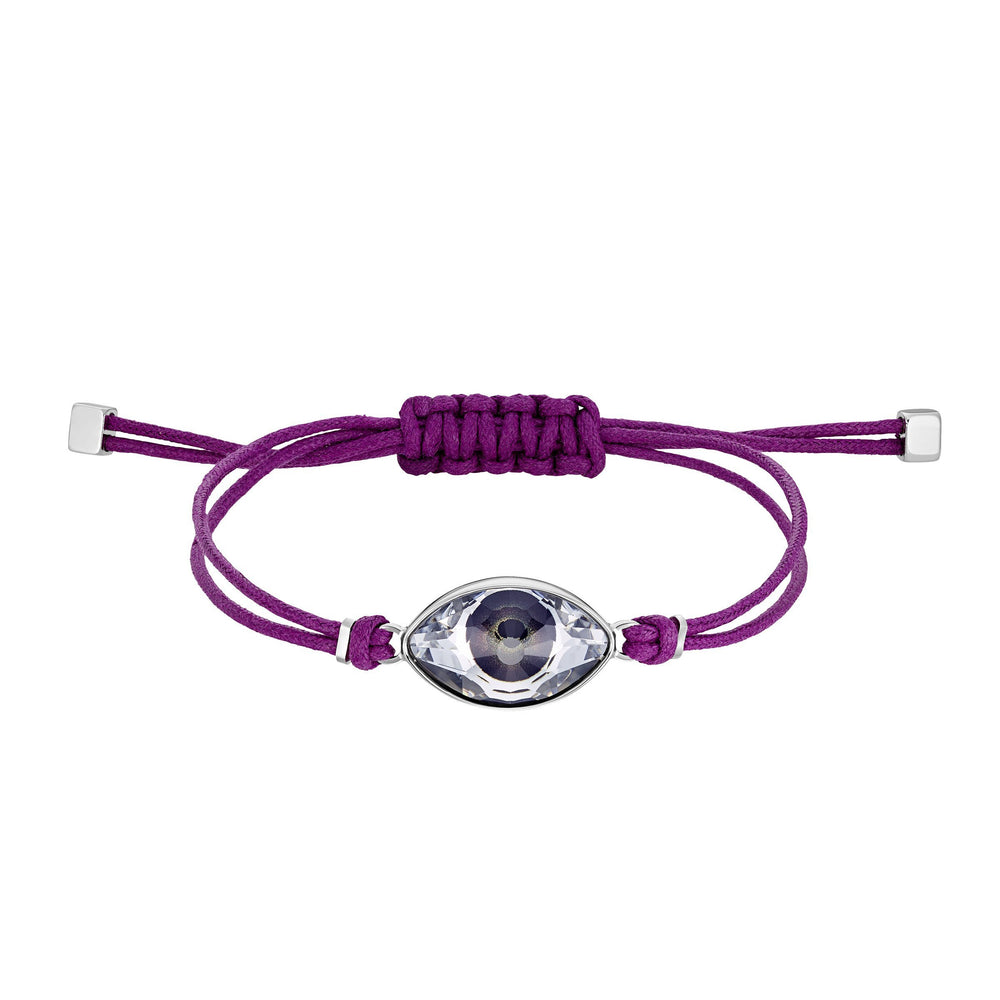swarovski-power-collection-bracelet-fuchsia-stainless-steel