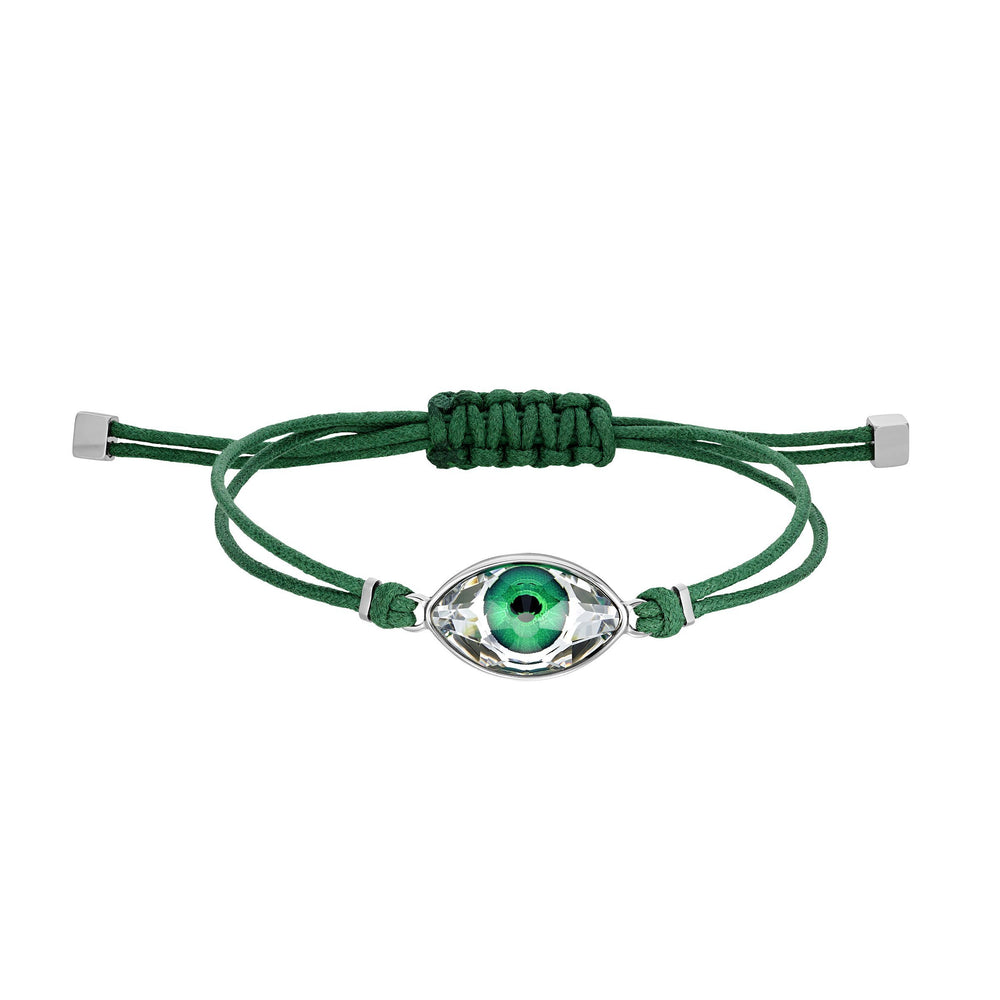swarovski-power-collection-bracelet-green-stainless-steel