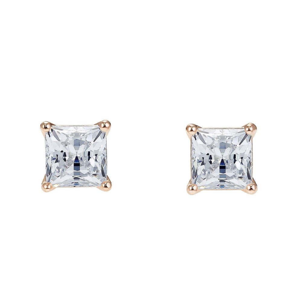 attract-pierced-earrings-white-rose-gold-tone-plated