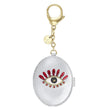 Load image into Gallery viewer, new-love-bag-charm-silver-tone