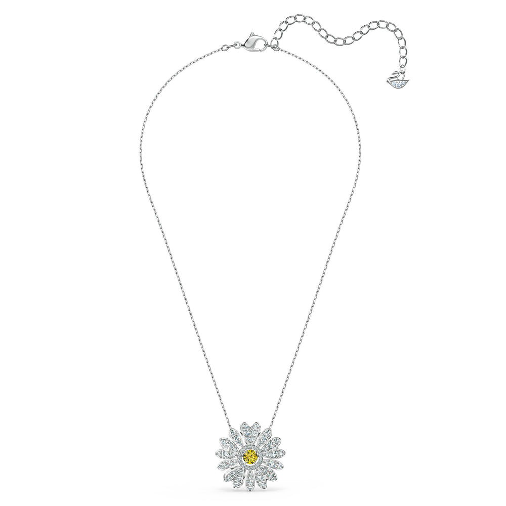 eternal-flower-pendant-yellow-rhodium-plated