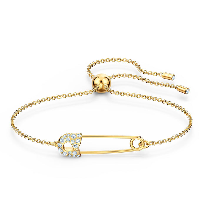 so-cool-pin-bracelet-white-gold-tone-plated