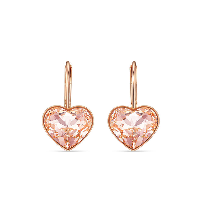 bella-heart-pierced-earrings-pink-rose-gold-tone-plated