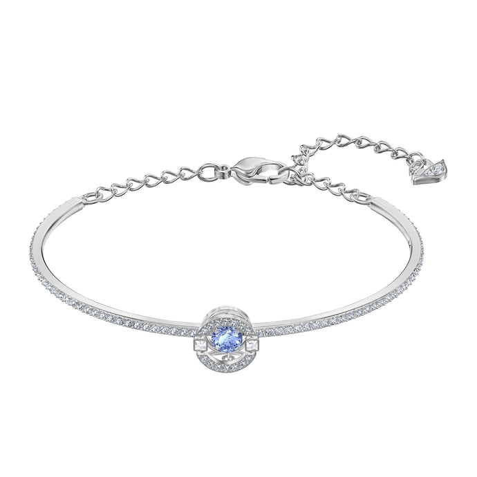 sparkling-dance-bangle-blue-rhodium-plated