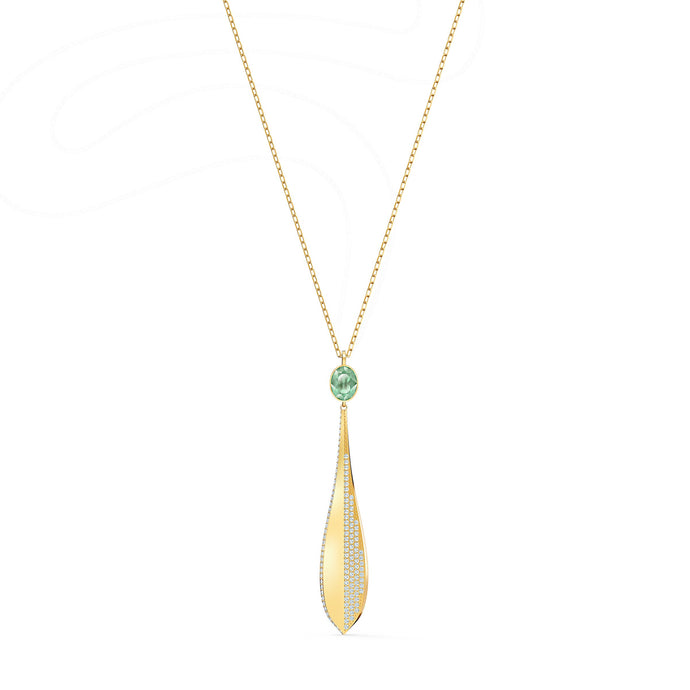 stunning-olive-pendant-green-rose-gold-tone-plated