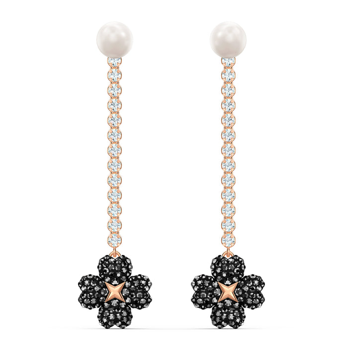 latisha-pierced-earrings-black-rose-gold-tone-plated